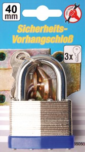 BGS Kraftmann Biztonsági lakat | 40 mm