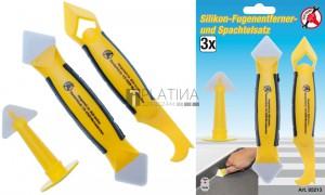 BGS Kraftmann Szililkon fugaeltávolító és spatula készlet | 3 darabos