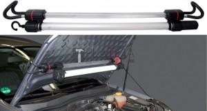 BGS Technic Motorháztetőre rögzíthető lámpa feszítőszerkezetes tartóval