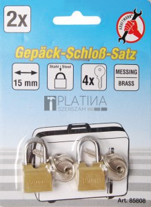 BGS Kraftmann Poggyászlakat-készlet | 15 mm | 2 darabos