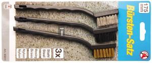 BGS Kraftmann Kefekészlet | 175 mm | 3 darabos