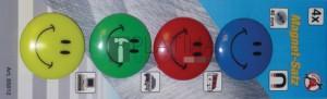 BGS Kraftmann Mágneskészlet |  Smile  | Ø 40 mm | 4 darabos