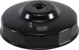 BGS Technic Olajszűrőkulcs | 15 élű | Ø 106 mm | Fiat Ducato