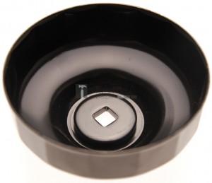 BGS Technic Olajszűrőkulcs | 15 élű | Ø 74 mm | Audi, Chrysler, GM, Rover