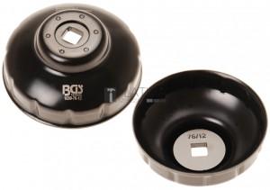 BGS Technic Olajszűrőkulcs | tizenkétszögletű | Ø 76 mm | Fiat, Mercedes-Benz, Renault