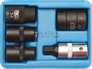 BGS Technic Féknyereg kulcs készlet ötszög | 5 élű | 5 darabos