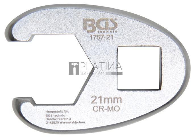 BGS Technic Hollanderkulcs | 12,5 mm (1/2) | 21 mm