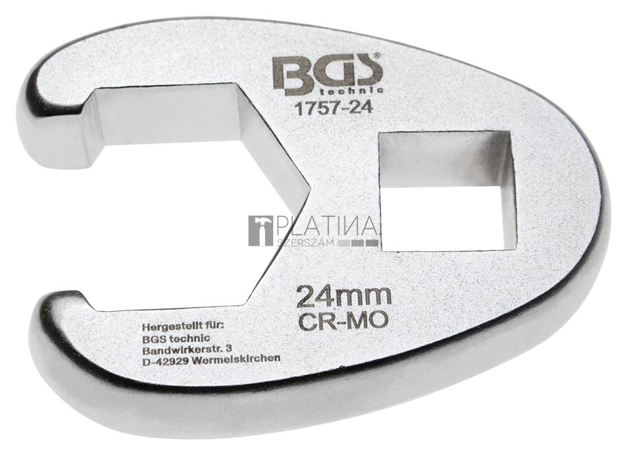 BGS Technic Hollanderkulcs | 12,5 mm (1/2) | 24 mm
