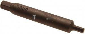 BGS Technic Speciális behajtófej dugattyúrúd ellentartásához lengéscsillapítókon | Belső hatszögletű 5 mm