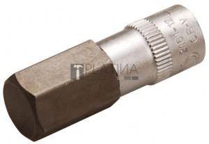 BGS Technic Behajtófej | 6,3 mm (1/4 ) | Belső hatszögletű 12 mm