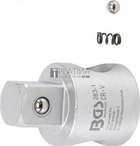 BGS Technic Csúszó adapter hosszabbítókhoz | 20 mm (3/4 )