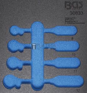 BGS Technic Műhelykocsi-betét 1/6 | üres | a BGS 30833-hez