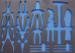 BGS Technic Műhelykocsi-betét 3/3 | üres | a BGS 4011-hez