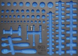 BGS Technic Műhelykocsi-betét 3/3 | üres | a BGS 4015-hez