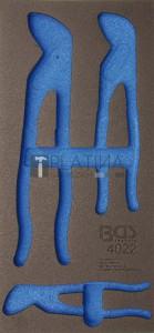 BGS Technic Műhelykocsi-betét 1/3 | üres | a BGS 4022-hez