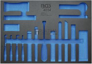 BGS Technic Műhelykocsi-betét 3/3 | üres | a BGS 4034-hez