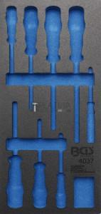 BGS Technic Műhelykocsi-betét 1/3 | üres | a BGS 4037-hez