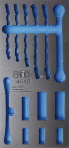 BGS Technic Műhelykocsi-betét 1/3 | üres | a BGS 4048-hez
