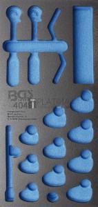 BGS Technic Műhelykocsi-betét 1/3 | üres | a BGS 4049-hez