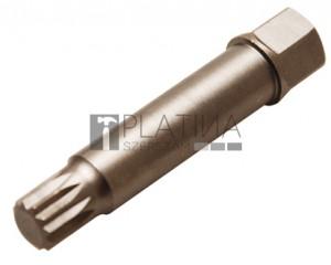 BGS Technic Speciális behajtófej generátor-szíjtárcsák leszereléséhez | (XZN) M10 x 64 mm