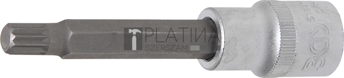 BGS Technic Behajtófej   Hossz 100 mm   12,5 mm (1/2)   (XZN) M9