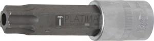 BGS Technic Behajtófej | Hossz 100 mm | 12,5 mm (1/2) | T-profil (Torx) T80 furattal