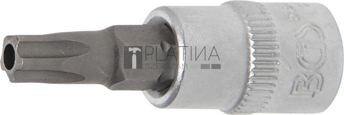 BGS Technic Behajtófej | 6,3 mm (1/4) | TS-profil (Torx Plus) TS30 furattal