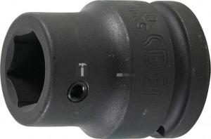 BGS Technic Behajtófej-adapter | a BGS 5246-hez | Nfz | 20 mm (3/4 ) - Belső hatszögletű 22 mm