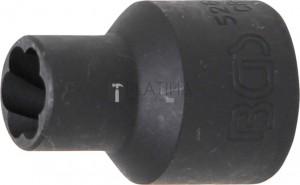 BGS Technic Speciális dugókulcs/Csavarkiszedő   12,5 mm (1/2)   10 mm