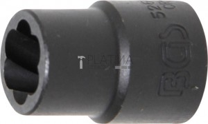 BGS Technic Speciális dugókulcs/Csavarkiszedő   12,5 mm (1/2)   13 mm