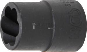 BGS Technic Speciális dugókulcs/Csavarkiszedő   12,5 mm (1/2)   15 mm