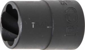 BGS Technic Speciális dugókulcs/Csavarkiszedő   12,5 mm (1/2)   16 mm
