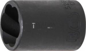 BGS Technic Speciális dugókulcs/Csavarkiszedő   12,5 mm (1/2)   17 mm