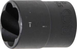 BGS Technic Speciális dugókulcs/Csavarkiszedő   12,5 mm (1/2)   19 mm