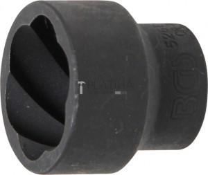 BGS Technic Speciális dugókulcs/Csavarkiszedő   12,5 mm (1/2)   27 mm