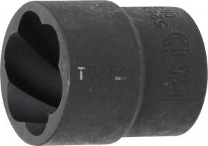 BGS Technic Speciális dugókulcskészlet/Csavarkiszedő   12,5 mm (1/2)   21 mm