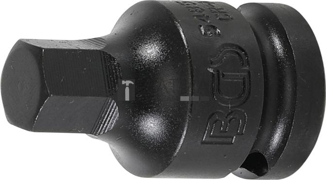 BGS Technic Levegős dugókulcs   12,5 mm (1/2)   Belső hatszögletű 12 mm