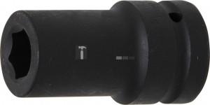 BGS Technic Levegős dugókulcs hatszögletű, mély | 25 mm (1) | 21 mm