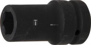 BGS Technic Levegős dugókulcs hatszögletű, mély | 25 mm (1) | 24 mm
