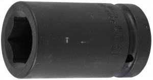 BGS Technic Levegős dugókulcs hatszögletű, mély | 25 mm (1) | 30 mm