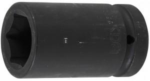 BGS Technic Levegős dugókulcs hatszögletű, mély | 25 mm (1) | 33 mm