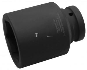 BGS Technic Levegős dugókulcs hatszögletű, mély | 25 mm (1) | 55 mm