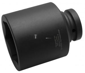 BGS Technic Levegős dugókulcs hatszögletű, mély | 25 mm (1) | 65 mm