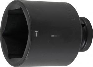 BGS Technic Levegős dugókulcs hatszögletű, mély | 25 mm (1) | 70 mm