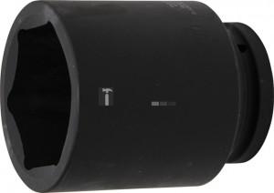 BGS Technic Levegős dugókulcs hatszögletű, mély | 25 mm (1) | 80 mm