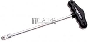 BGS Technic T-fogantyú   Billenthető négyélű 12,5 mm (1/2)   230 mm