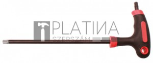 BGS Kraftmann Csavarhúzó T-fogantyúval és oldalpengével | T-profil (Torx) furattal/furat nélkül T45