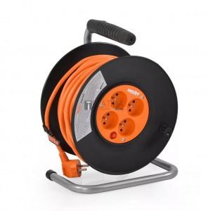 Hecht hosszabbító kábel dobbal - 25 méteres