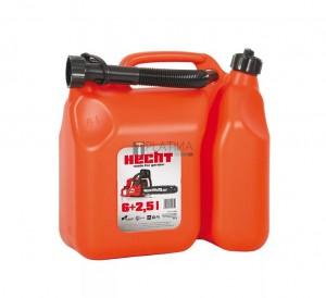 Hecht K00085 kombinált üzemanyagkanna 6+2,5 l