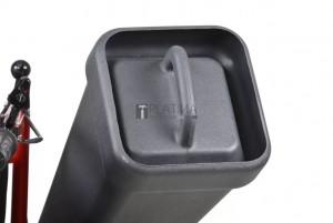 Hecht 8574 önjáró benzines lombszívó és aprítógép